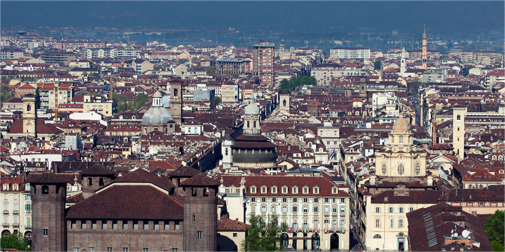город Турин. Италия.