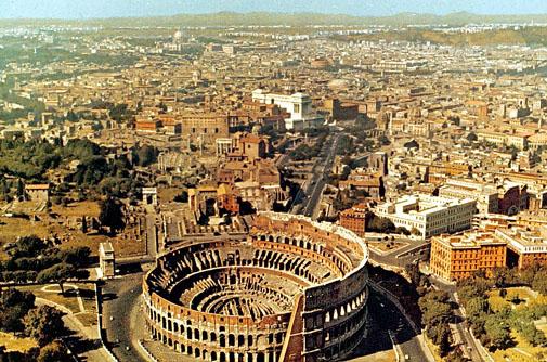 Город Рим. Италия